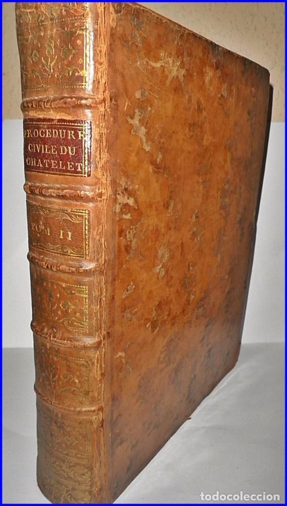 AÑO 1779: VOLUMINOSO LIBRO DE DERECHO DEL SIGLO XVIII EXCELENTEMENTE CONSERVADO. (Libros Antiguos, Raros y Curiosos - Ciencias, Manuales y Oficios - Derecho, Economía y Comercio)