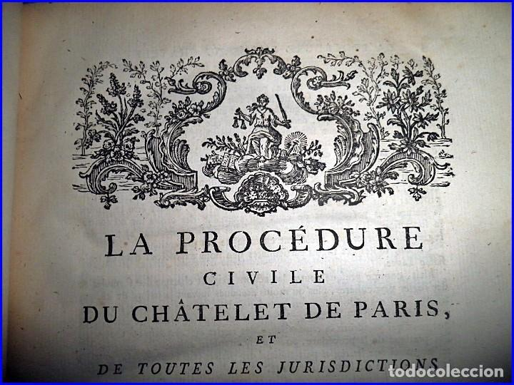 Libros antiguos: AÑO 1779: VOLUMINOSO LIBRO DE DERECHO DEL SIGLO XVIII EXCELENTEMENTE CONSERVADO. - Foto 6 - 91401800