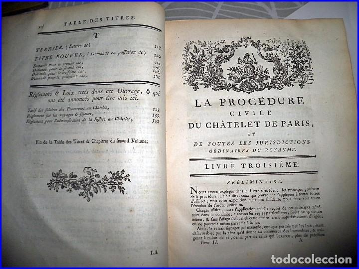 Libros antiguos: AÑO 1779: VOLUMINOSO LIBRO DE DERECHO DEL SIGLO XVIII EXCELENTEMENTE CONSERVADO. - Foto 7 - 91401800