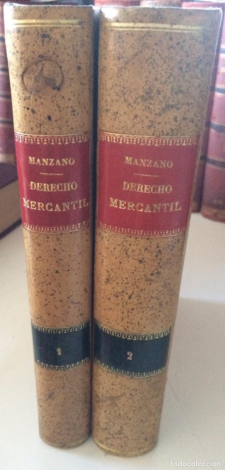 TRATADO DE DERECHO MERCANTIL ESPAÑOL TOMOS I Y II 1916 (Libros Antiguos, Raros y Curiosos - Ciencias, Manuales y Oficios - Derecho, Economía y Comercio)