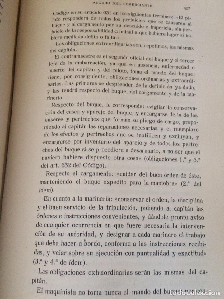 Libros antiguos: Tratado de Derecho mercantil español tomos I y II 1916 - Foto 4 - 92857748
