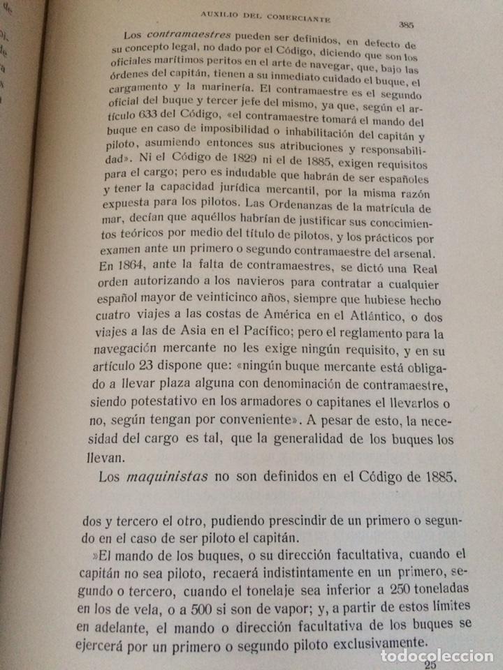 Libros antiguos: Tratado de Derecho mercantil español tomos I y II 1916 - Foto 5 - 92857748
