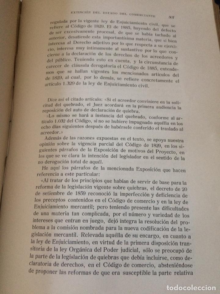 Libros antiguos: Tratado de Derecho mercantil español tomos I y II 1916 - Foto 6 - 92857748