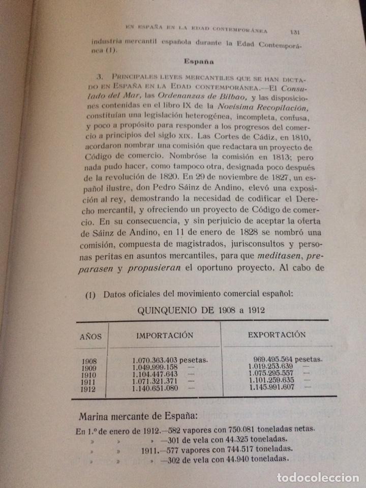 Libros antiguos: Tratado de Derecho mercantil español tomos I y II 1916 - Foto 7 - 92857748