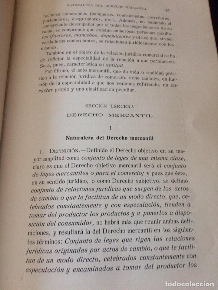 Libros antiguos: Tratado de Derecho mercantil español tomos I y II 1916 - Foto 8 - 92857748