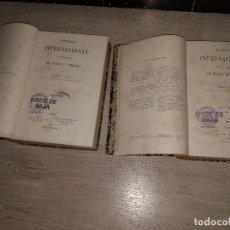 Libros antiguos: DERECHO INTERNACIONAL TEÓRICO Y PRÁCTICO DE EUROPA Y AMÉRICA. CARLOS CALVO (1868) 2 TOMOS. Lote 93167055