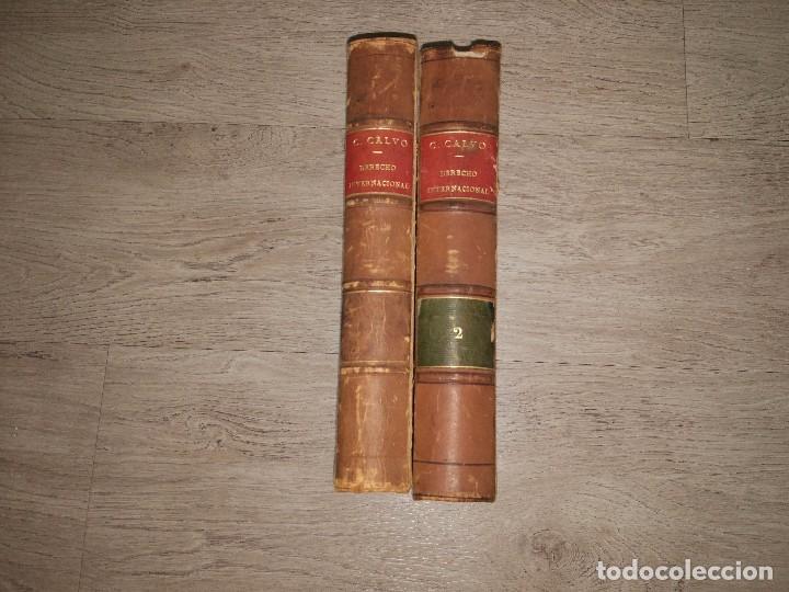 Libros antiguos: Derecho Internacional Teórico y Práctico de Europa y América. Carlos Calvo (1868) 2 Tomos - Foto 3 - 93167055