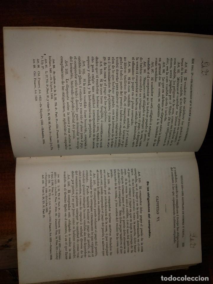 Libros antiguos: Código Civil De La República Argentina. Dalmacio Vélez (1870). Edición Oficial de 1869. Muy Raro - Foto 2 - 93394805