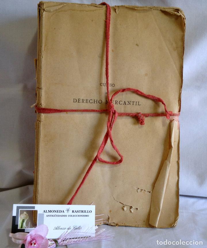 Libros antiguos: CURSO DE DERECHO MERCANTIL FILOSÓFICO, HISTÓRICO Y VIGENTE, ÁLVAREZ DEL MANZANO Y ALVAREZ RIVERA - Foto 2 - 93940665
