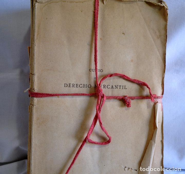 Libros antiguos: CURSO DE DERECHO MERCANTIL FILOSÓFICO, HISTÓRICO Y VIGENTE, ÁLVAREZ DEL MANZANO Y ALVAREZ RIVERA - Foto 3 - 93940665
