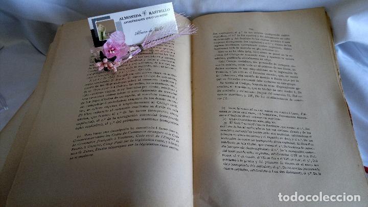 Libros antiguos: CURSO DE DERECHO MERCANTIL FILOSÓFICO, HISTÓRICO Y VIGENTE, ÁLVAREZ DEL MANZANO Y ALVAREZ RIVERA - Foto 7 - 93940665
