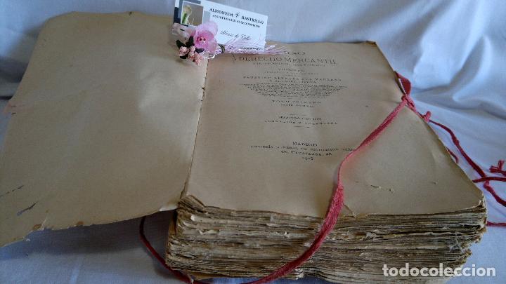 Libros antiguos: CURSO DE DERECHO MERCANTIL FILOSÓFICO, HISTÓRICO Y VIGENTE, ÁLVAREZ DEL MANZANO Y ALVAREZ RIVERA - Foto 8 - 93940665