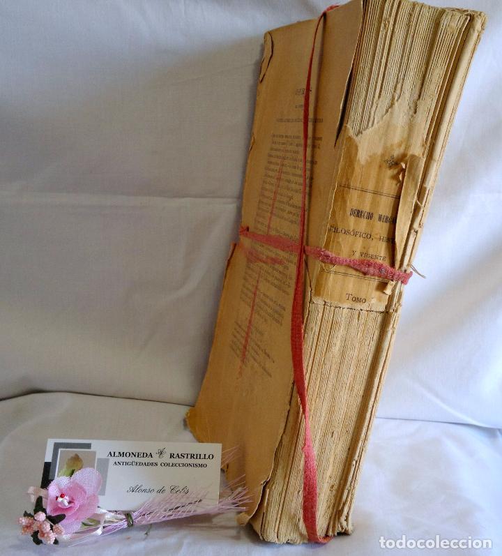 Libros antiguos: CURSO DE DERECHO MERCANTIL FILOSÓFICO, HISTÓRICO Y VIGENTE, ÁLVAREZ DEL MANZANO Y ALVAREZ RIVERA - Foto 9 - 93940665