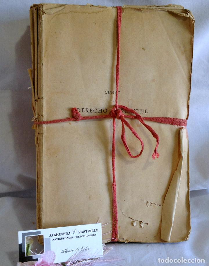 Libros antiguos: CURSO DE DERECHO MERCANTIL FILOSÓFICO, HISTÓRICO Y VIGENTE, ÁLVAREZ DEL MANZANO Y ALVAREZ RIVERA - Foto 10 - 93940665