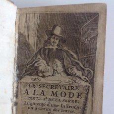 Libros antiguos: AMSTERDAM 1663 * SECRETAIRE A LA MODE * TRATADO PARA ESCRIBIR CARTAS * DOS OBRAS EN 1 VOLUMEN. Lote 93963450