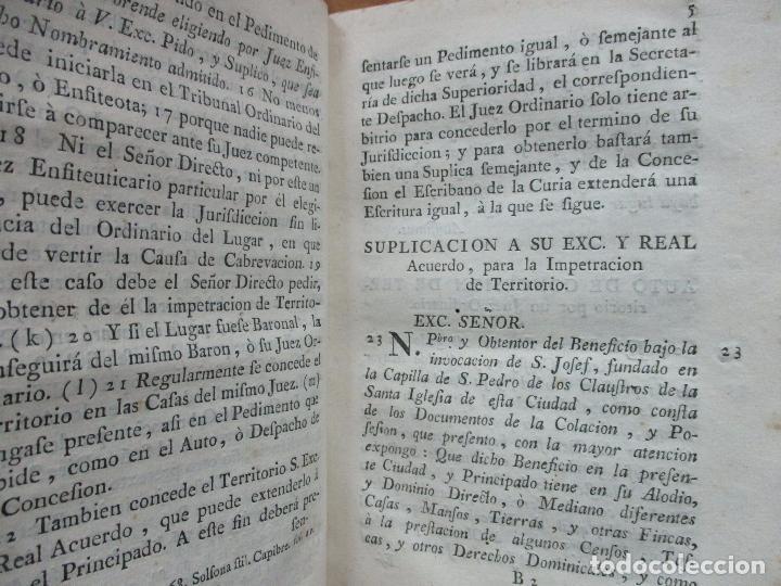Libros antiguos: TRATADO DE LA CABREVACION SEGUN EL DERECHO Y ESTILO DEL PRINCIPADO DE CATALUÑA. - Foto 3 - 93998555