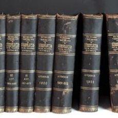 Libros antiguos: EL CÓDIGO CIVIL INTERPRETADO POR EL TRIBUNAL SUPREMO. 11 TOMOS MÁS 12 APÉNDICES. 1906/1915.. Lote 94301062