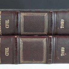 Libros antiguos: JURISPRUDENCIA CIVIL DE ESPAÑA. TOMOS I Y II. IMP. JOSÉ RODRIGUEZ. 1869.. Lote 95037191