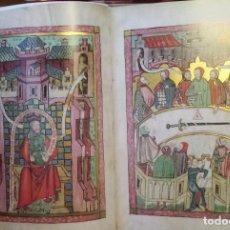 Libros antiguos: FACSIMIL CODICE DE LAS LEYES DE LA CIUDAD DE HERFORD. Lote 95429255