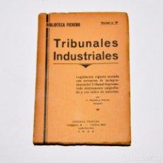 Libros antiguos: TRIBUNALES INDUSTRIALES - BIBLIOTECA FICHERO. Lote 95828203