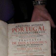 Libros antiguos: DOMINICI ANTUNEZ PORTUGAL LIBRO PERGAMINO . Lote 95855939