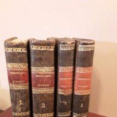 Libros antiguos: COLECCION - PRONTUARIO JURIDICO VOLUMES 1,2,3 Y 4. AÑOS 1839,41,42 Y - 1843. Lote 95973227
