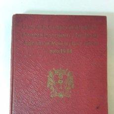Libros antiguos: LISTAS DE LOS ILUSTRES COLEGIOS DE ABOGADOS,NOTARIOS,PROCURADORES Y SECRETARIOS DE MADRID 1934.. Lote 96012043