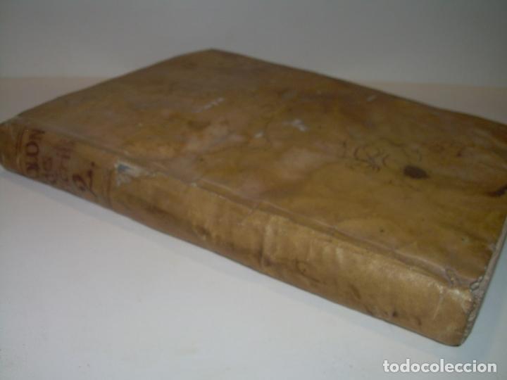 Libros antiguos: LIBRO TAPAS DE PERGAMINO..INSTRUCCION JURDICA DE ESCRIBANOS,ABOGADOS Y JUECES....AÑO 1760 - Foto 2 - 96411707