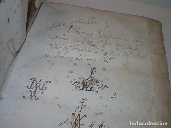 Libros antiguos: LIBRO TAPAS DE PERGAMINO..INSTRUCCION JURDICA DE ESCRIBANOS,ABOGADOS Y JUECES....AÑO 1760 - Foto 3 - 96411707
