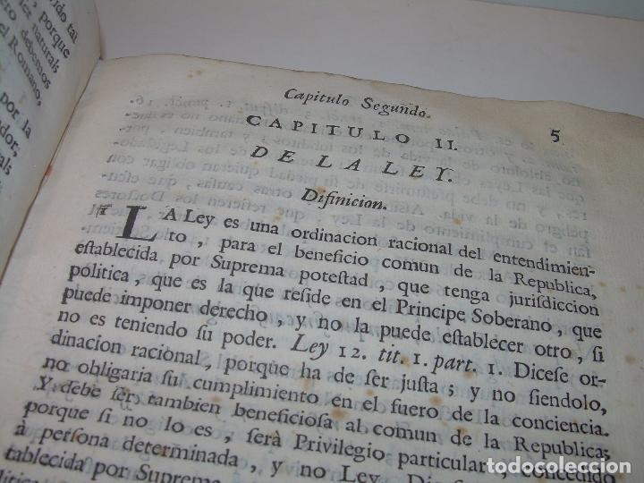 Libros antiguos: LIBRO TAPAS DE PERGAMINO..INSTRUCCION JURDICA DE ESCRIBANOS,ABOGADOS Y JUECES....AÑO 1760 - Foto 10 - 96411707