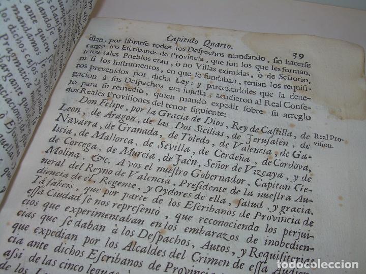 Libros antiguos: LIBRO TAPAS DE PERGAMINO..INSTRUCCION JURDICA DE ESCRIBANOS,ABOGADOS Y JUECES....AÑO 1760 - Foto 13 - 96411707