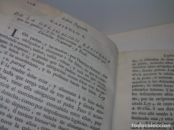 Libros antiguos: LIBRO TAPAS DE PERGAMINO..INSTRUCCION JURDICA DE ESCRIBANOS,ABOGADOS Y JUECES....AÑO 1760 - Foto 16 - 96411707