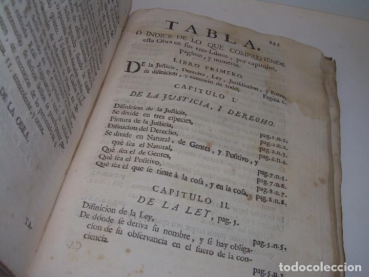 Libros antiguos: LIBRO TAPAS DE PERGAMINO..INSTRUCCION JURDICA DE ESCRIBANOS,ABOGADOS Y JUECES....AÑO 1760 - Foto 21 - 96411707