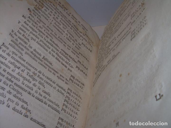 Libros antiguos: LIBRO TAPAS DE PERGAMINO..INSTRUCCION JURDICA DE ESCRIBANOS,ABOGADOS Y JUECES....AÑO 1760 - Foto 22 - 96411707