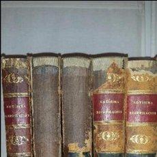 Libros antiguos: NOVISIMA RECOPILACION DE LAS LEYES DE ESPAÑA COLECCIÓN COMPLETA 1846. Lote 96788095