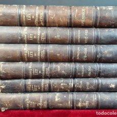Libros antiguos: LEY DE ENJUICIAMIENTO CIVIL. 6 VOLUM. JOSE Mª MANRESA. IMP. LEGISLACIÓN Y JURISPRUDENCIA. 1856/1869.. Lote 97130431