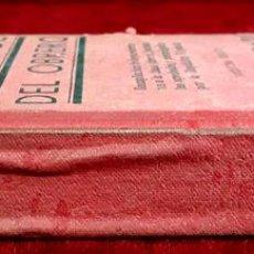 Libros antiguos: EL ABOGADO DEL OBRERO. JOSÉ SÁNCHEZ ROSA. EDIT. CASA DE LA VEGA. 1932.. Lote 97206619