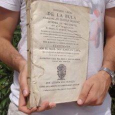 Libros antiguos: 1768 - HISTORIA LEGAL DE LA BULA IN COENA DOMINI + EN FAVOR DE LA REGALIA DEL REINO DE NAVARRA. Lote 97215027