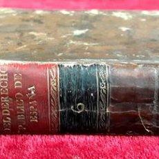Libros antiguos: INSTITUCIONES DEL DERECHO PÚBLICO GENERAL DE ESPAÑA. EDIT. B. GARCÍA Y CIA. 1802.. Lote 97843139