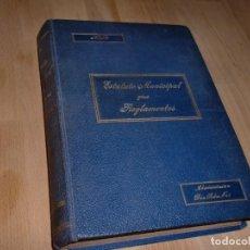 Libros antiguos: ESTATUTO MUNICIPAL Y LOS REGLAMENTOS - MADRID 1925 - 2ª EDICIÓN *AB*. Lote 99720627