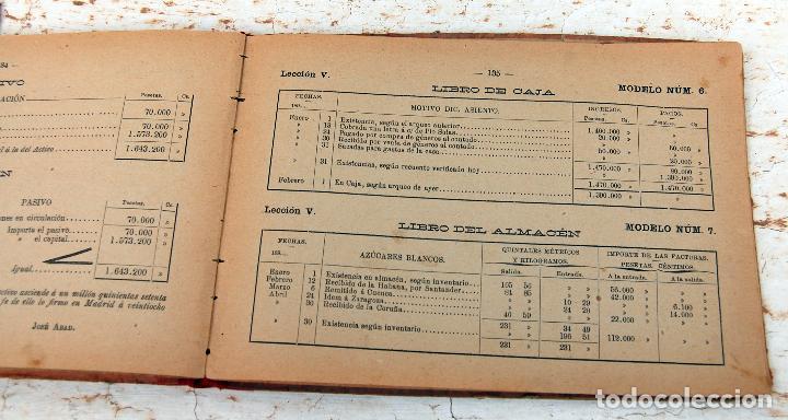 Libros antiguos: LIBRO MANUAL DE TENEDURIA DE LIBROS POR PARTIDA DOBLE DE JOSE SALVADOR Y GAMBOA 1894 - Foto 3 - 100552951