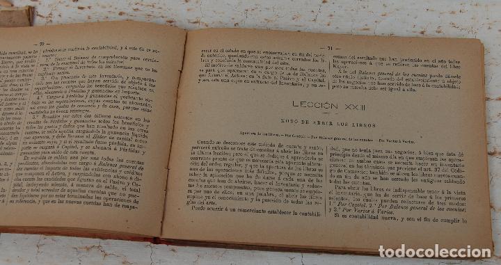 Libros antiguos: LIBRO MANUAL DE TENEDURIA DE LIBROS POR PARTIDA DOBLE DE JOSE SALVADOR Y GAMBOA 1894 - Foto 4 - 100552951