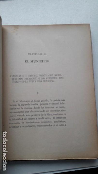 Libros antiguos: El municipio moderno, Antonio Rodriguez, Est. Tip. La Union, Jaen 1906 raro - Foto 4 - 102123607