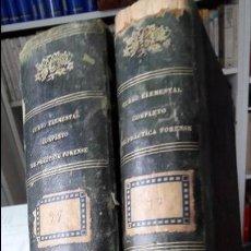 Libros antiguos: CURSO ELEMENTAL COMPLETO DE PRACTICA FORENSE, J. MARIA RODRIGUEZ. ED. F. ALVAREZ, SEVILLA, 1855. Lote 102156027