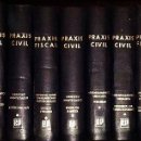 Libros antiguos: COLECCIÓN DIECIOCHO LIBROS PRAXIS FISCAL. Lote 102322543