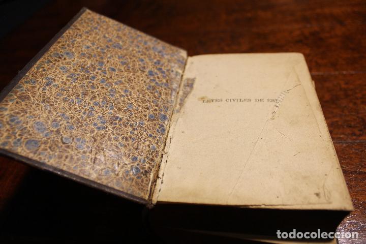 Libros antiguos: Libro leyes civiles de españa año 1898 leon medina manuel marañon - Foto 4 - 102536295