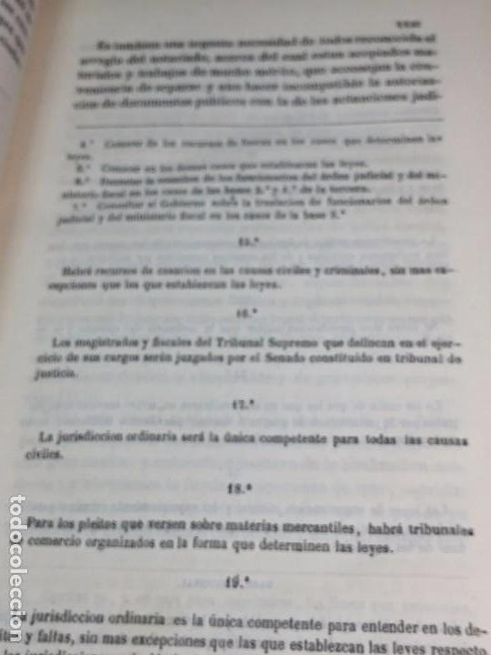 Libros antiguos: Practica General Forense Ortiz de Zúñiga 3 tomos buen estado 1856 leyes medicina judicial imp Madrid - Foto 5 - 102713151