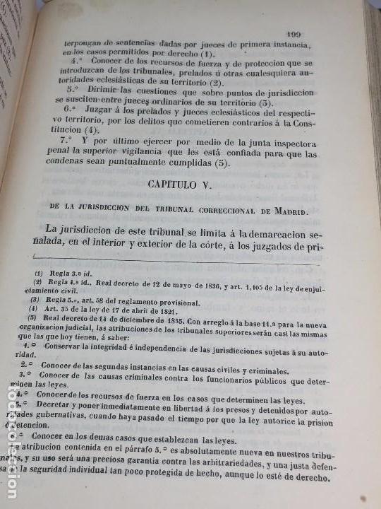 Libros antiguos: Practica General Forense Ortiz de Zúñiga 3 tomos buen estado 1856 leyes medicina judicial imp Madrid - Foto 7 - 102713151