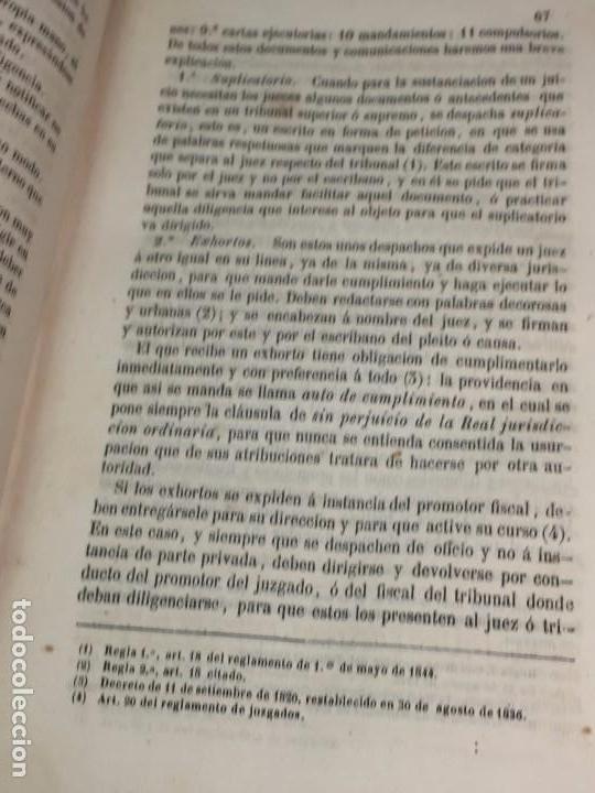 Libros antiguos: Practica General Forense Ortiz de Zúñiga 3 tomos buen estado 1856 leyes medicina judicial imp Madrid - Foto 10 - 102713151