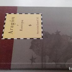 Libros antiguos: ARAGON Y EUROPA-SERVICIO EURO CAI-DIRECCION GUILLERMO FATAS Y MANUEL SILVA-CAI100. Lote 103095883